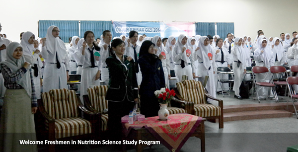 Welcome Freshmen in Nutrition Science Study Program