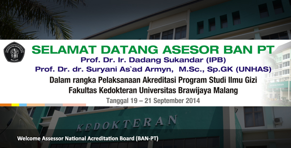Welcome Assessor National Acreditation Board (BAN-PT)